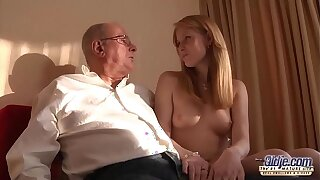 Age-old Youthful Pornography Grandfather loves to pound youthful gals and slurp cooters
