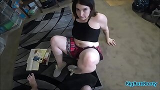 Step-brother Creampies Lil' Sis Not afterwards than Fuck-a-thon Ed Homework