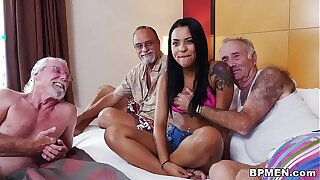 Nikki Kay Likes Group sex less Elder Guys