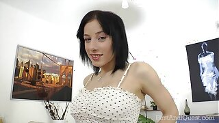 FirstAnalQuest.com - Ass-fuck Sexual fuckfest Postures Probed There Obese Fun bags RUSSIAN Chick