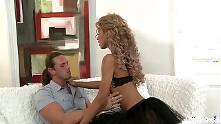 Diminutive teenager Victoria Tiffani gets her smallish backside ass in phat humungous manstick