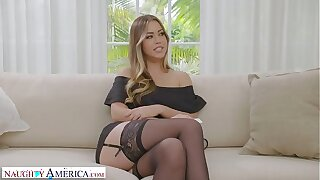 Horny America - Your wife, Kassandra Kelly (Alina Lopez), romps a stranger and you witness