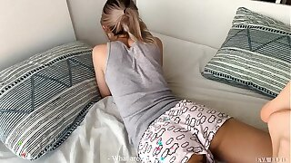 He as luck would have it creampied his reaction stepsister! - Eva Elfie