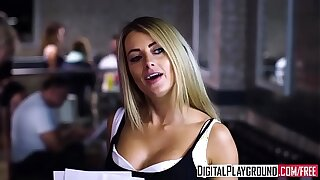 Hard-core Porno vid - Night Out At Taterz (Vanessa Decker, Luke Hardy)