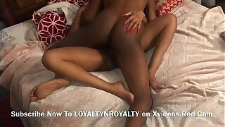 Big black cock Step-father Penetrates 20 Year Aged STEPDAUGHTER AND CREAMPIES HER Youthfull Obese PUSSY!