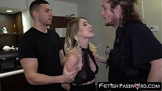 Alluring nubile Cadence Lux makes a painfull deal with cops