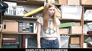 ShopLyfter - Ultra-cute Teenager Snowy Stealing Blows LP Officer