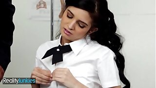 Skinny schoolgirl Zoey Kush gets dominated by teacher - Definiteness Junkies
