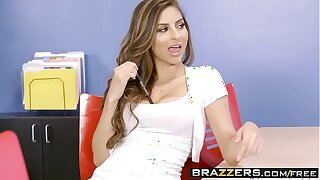 Brazzers - Big Chest at School - The Make-Up Checkout scene starring Nina North with the addition of Jessy Jones