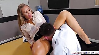 Naughty America - Taken hold of by Your Fantasy Nicole Aniston fucking in the desk here her medium ass