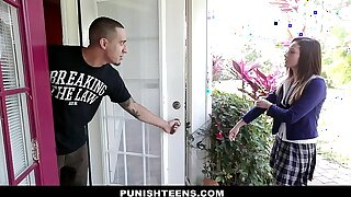 PunishTeens - Schoolgirl Jaye Summers Chained And Fucked Hard