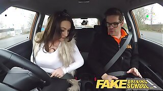 Fake Driving School domineer inmate goes on a wild ride!