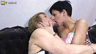 Grandmother pleases girl