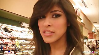 Extrem Hairy Vulva Latina Teen Talk to Fuck at Pick Up Casting