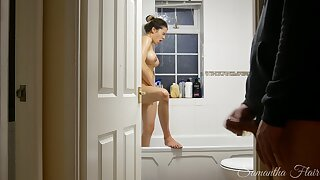 Crazy Stepdaughter Ep. 4 - Spied on in the shower