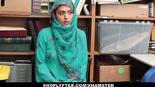Shoplyfter - Hot Muslim Teenager Caught & Molested